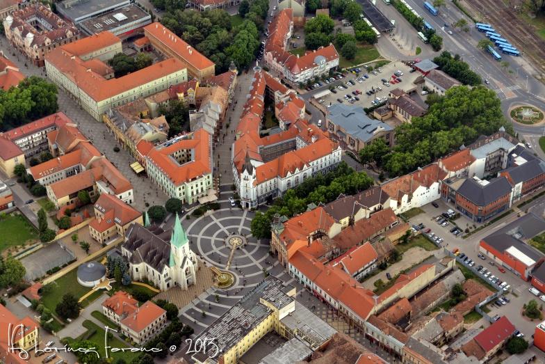 Kaposvár Légifotó