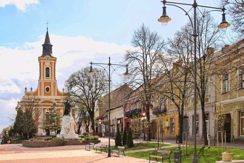 Kossuth tér, Nagytemplom