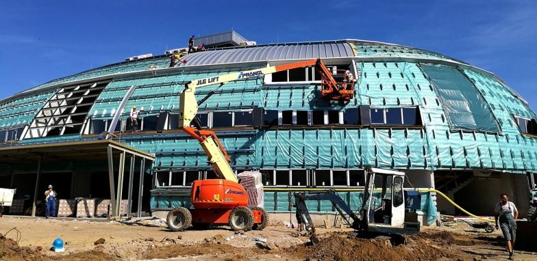 Kaposvári Aréna építés alatt